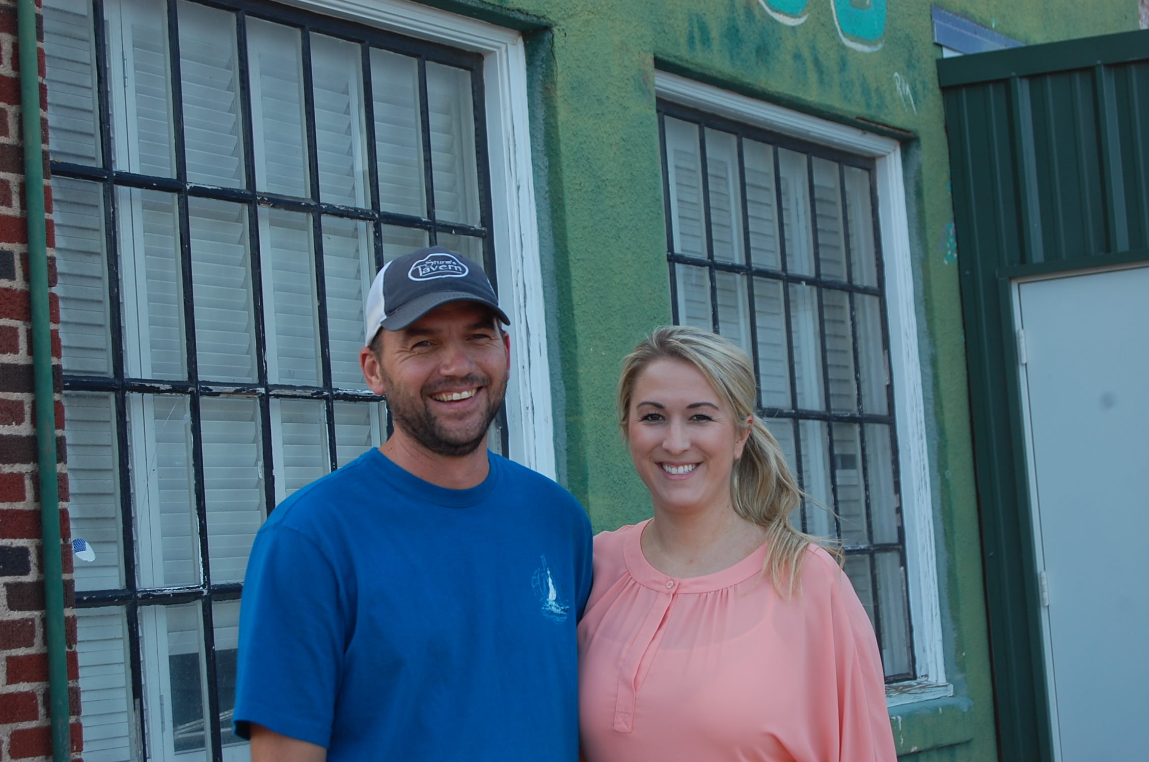 Cody Sturm and Katie Bollinger own and operate Blaine's Pub today.