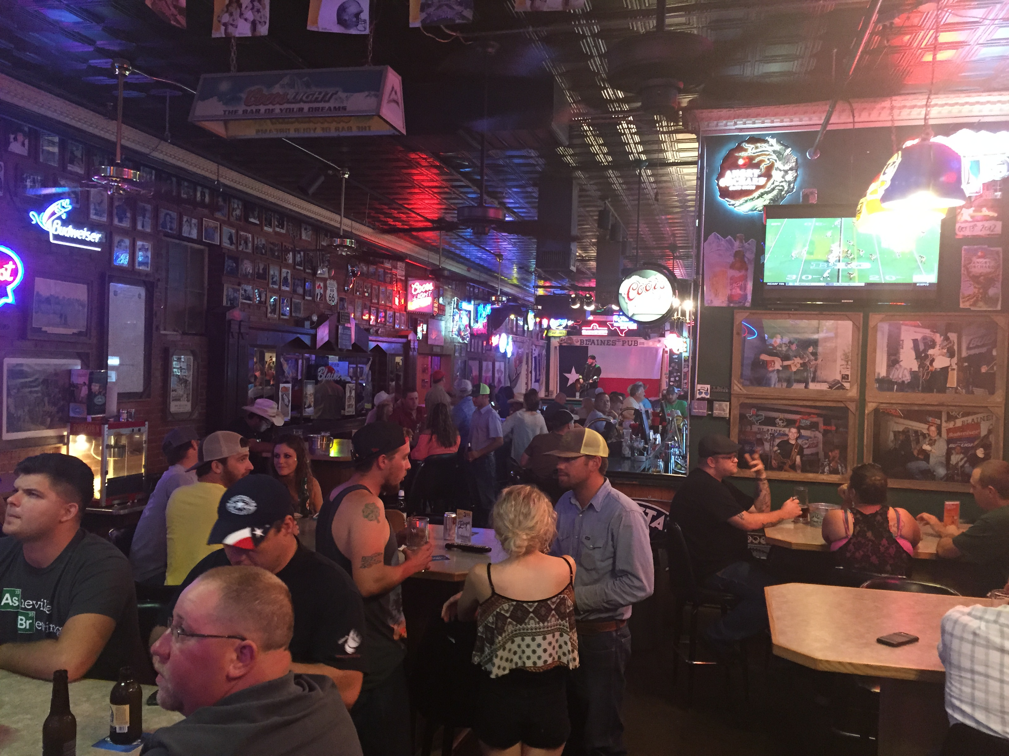 Blaine's Pub in San Angelo, Texas is a storied live music venue